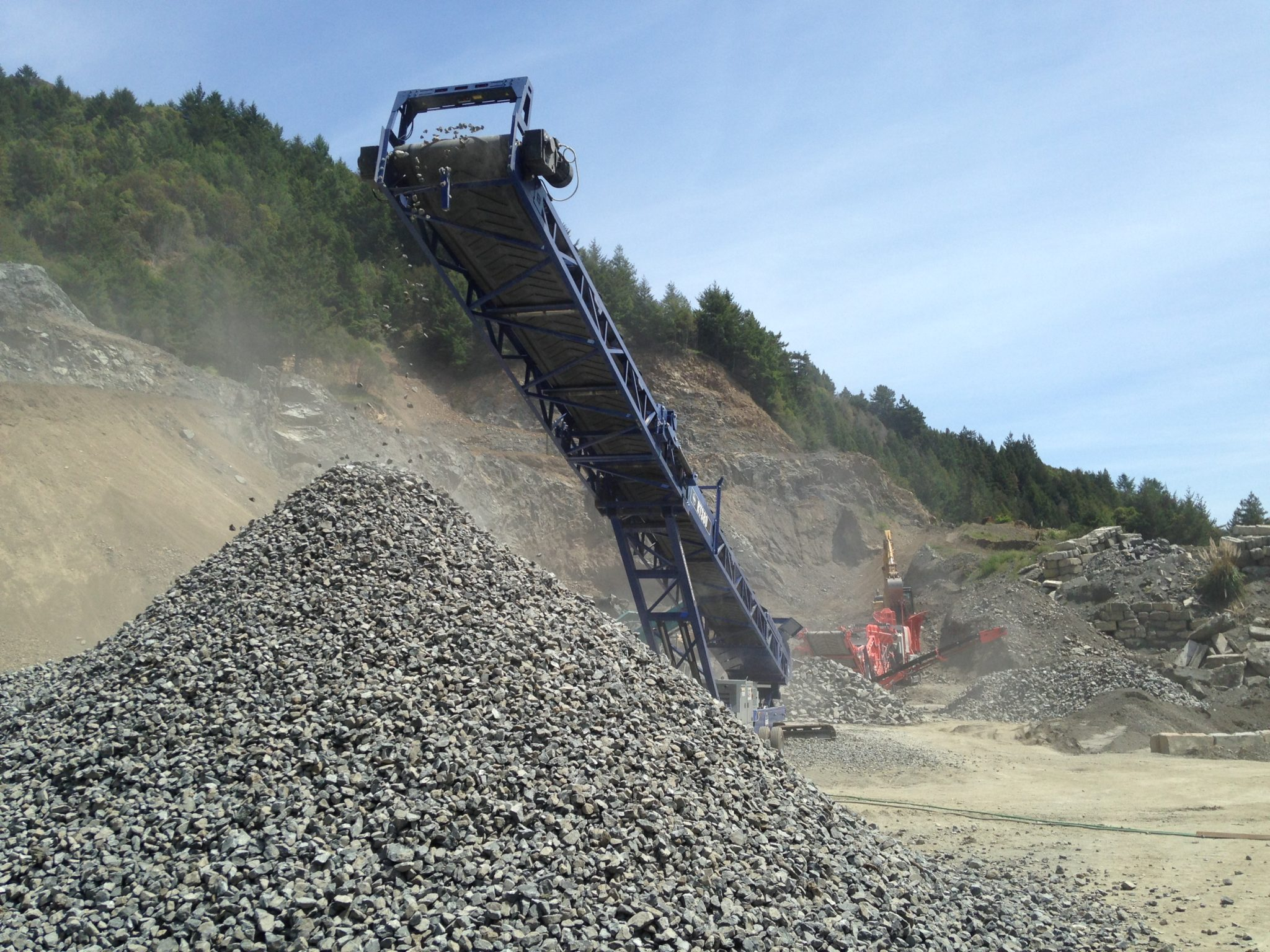 Quarrying